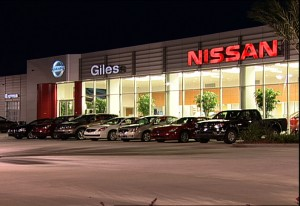 Giles Nissan Night